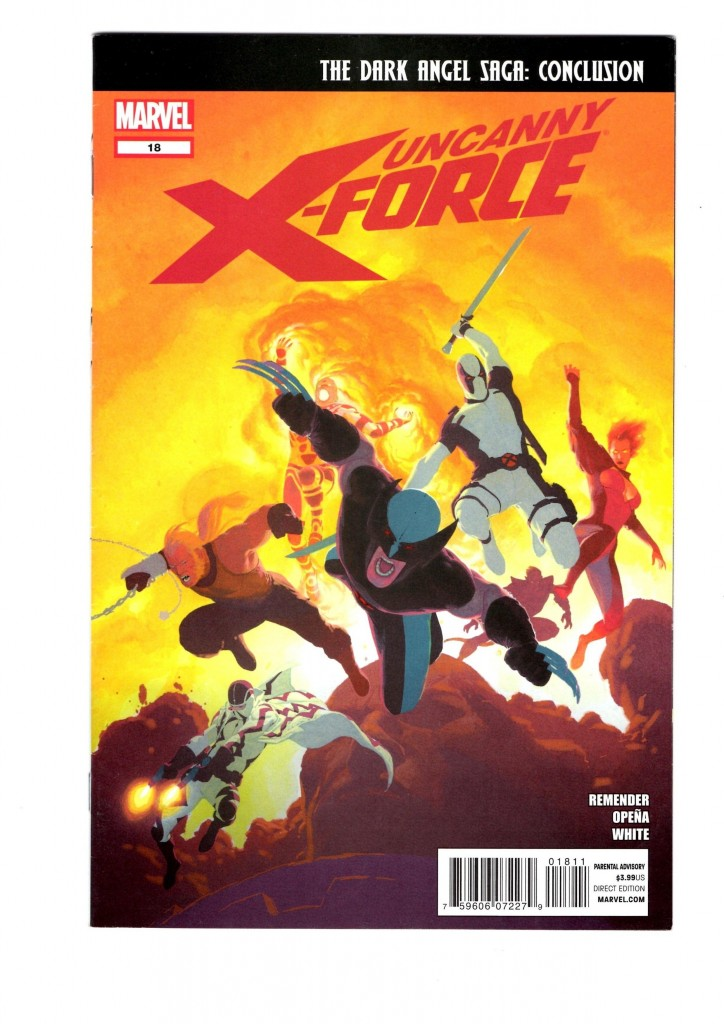 X-Force Dark Angel Saga