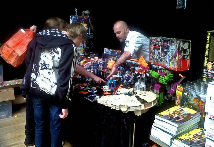 BangZap Toys Comic Con Stand