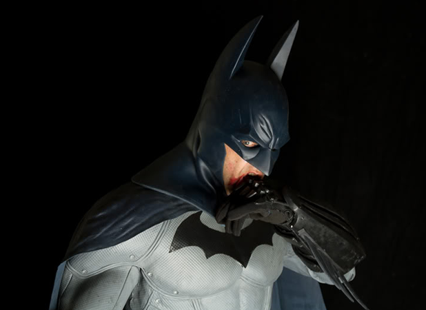 real arkham city batsuit