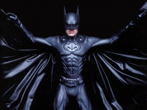 george clooney batman costume