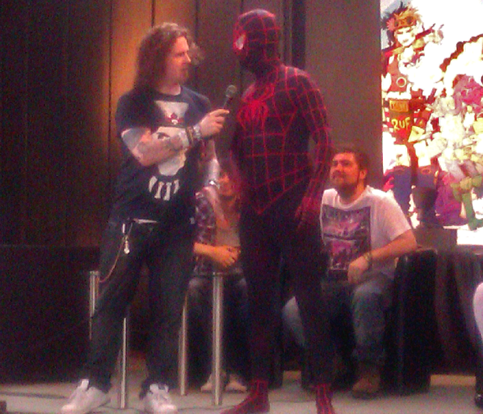 spiderman Glasgow comic con cosplay competition